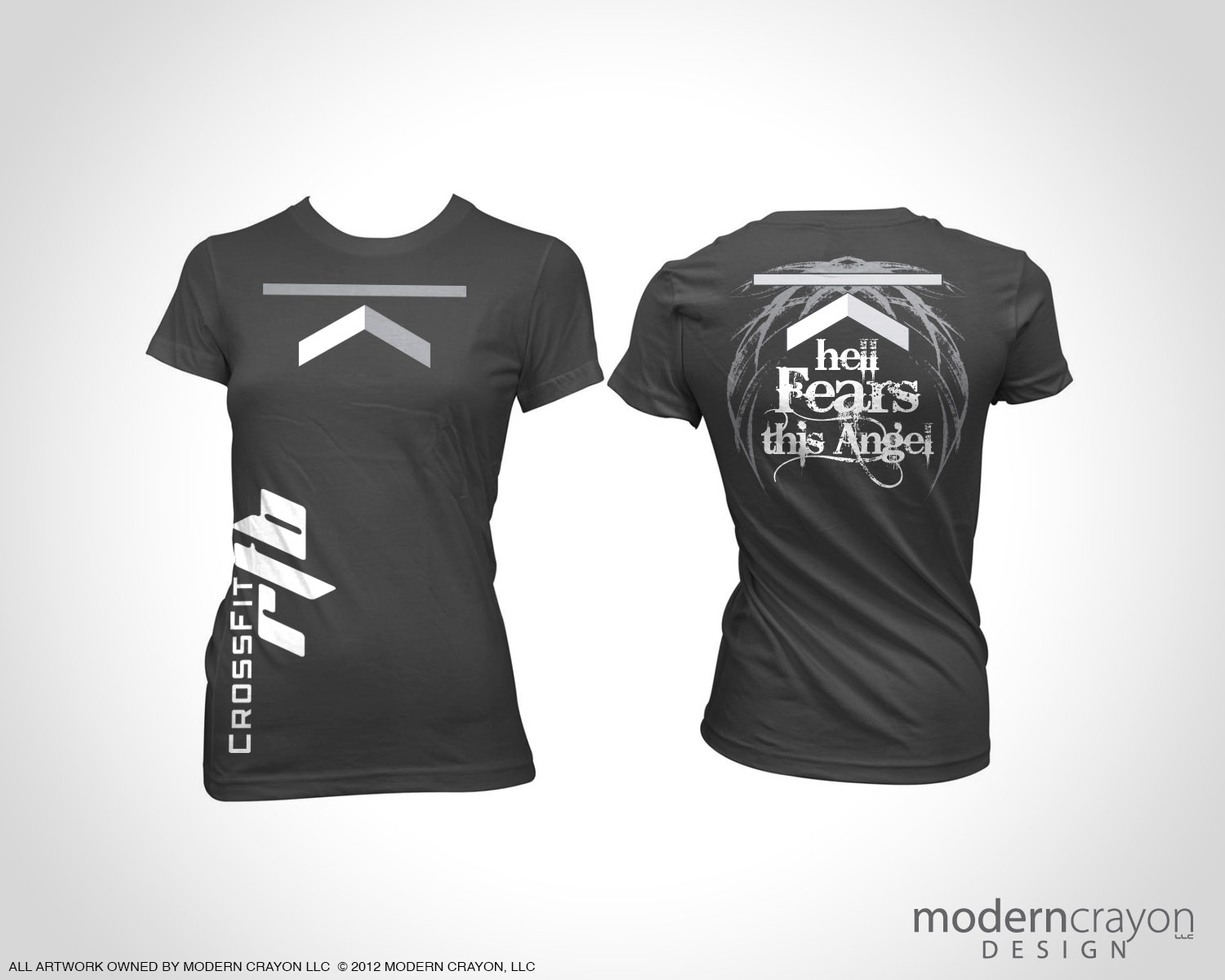 crossfit rtb custom t shirts modern crayon. Black Bedroom Furniture Sets. Home Design Ideas