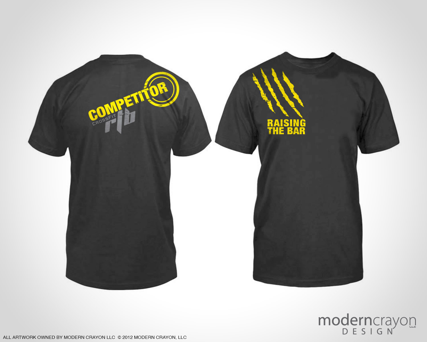 Crossfit Rtb 2012 Shred Fest T Shirts Modern Crayon