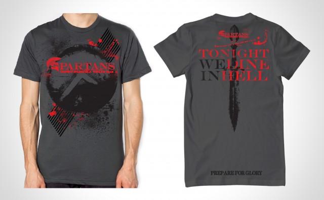MODERN CRAYON - Crossfit Spartans Shirt
