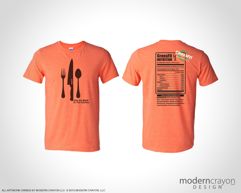 Design t shirt program - Nutrition T Shirts