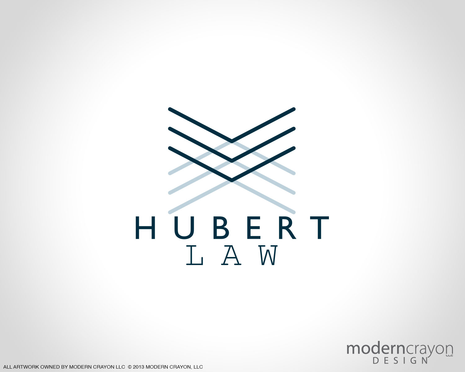 hubert law custom business cards and branding package