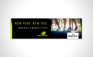 Plaza Shoe Store New Balance New Year