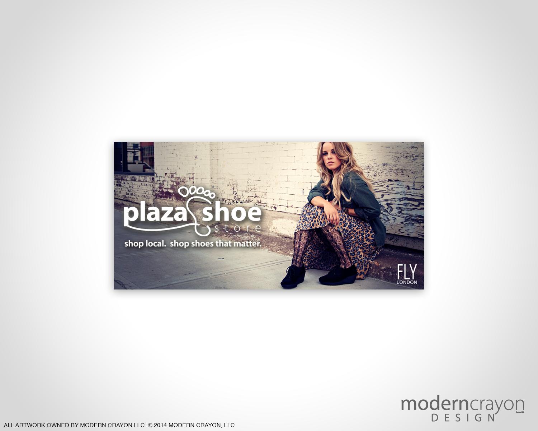 Plaza shoe store fly london digital billboard for A valeria boss salon