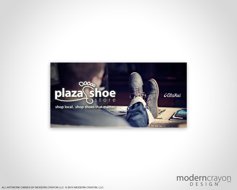 Plaza shoe store olukai digital billboard for A valeria boss salon