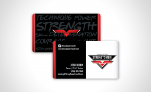 Strong Tower CrossFit Business Card