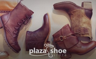Plaza Shoe Store - Fall 2014 Boot Billboard