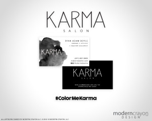 modern-crayon-karmasalon-businesscards